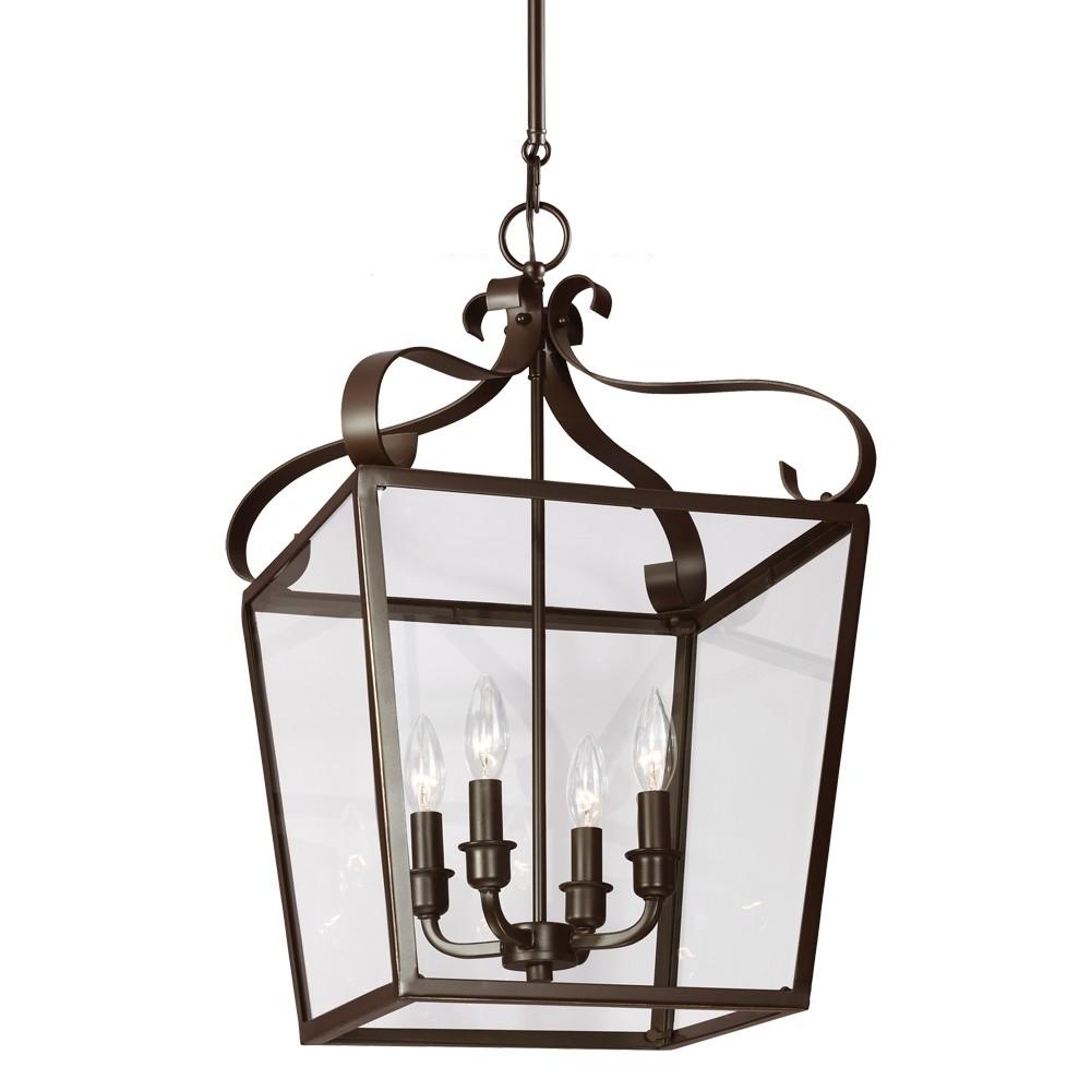 Sea-Gull-Lighting-Lockheart-4-Light-Foyer-Lantern-Pendant