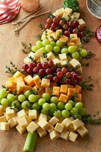 cheese plate_christmas_tree