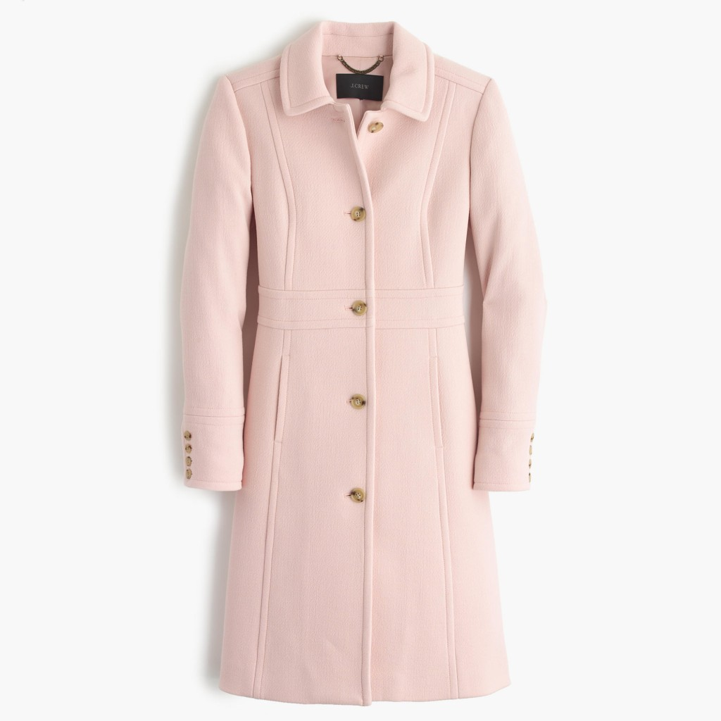pink lady day coat