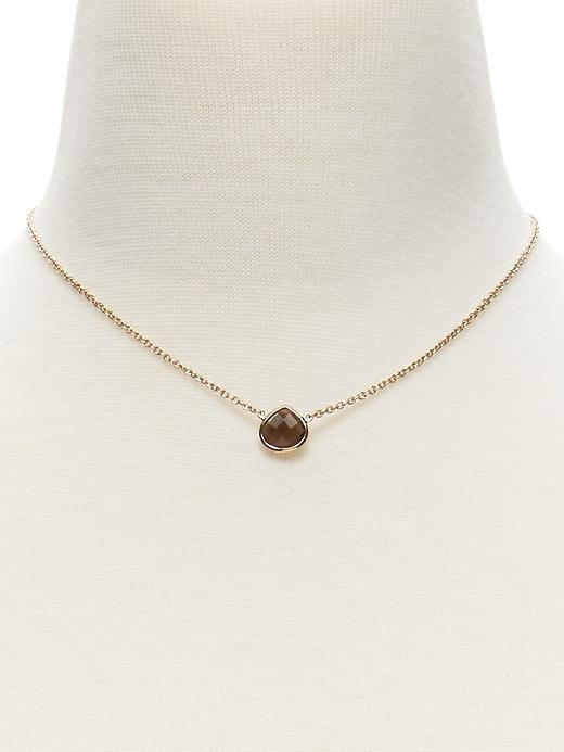 BR Teardrop Necklace