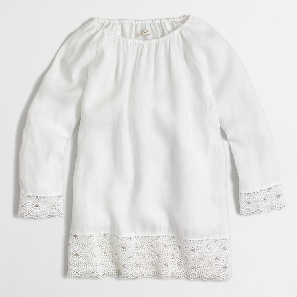 Lace Linen Top_jcrew