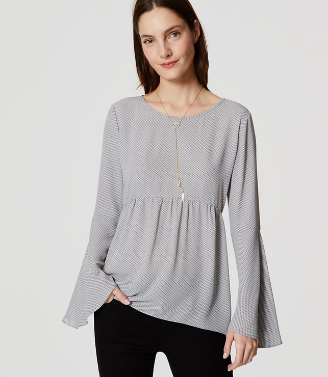 bell-sleeve-blouse