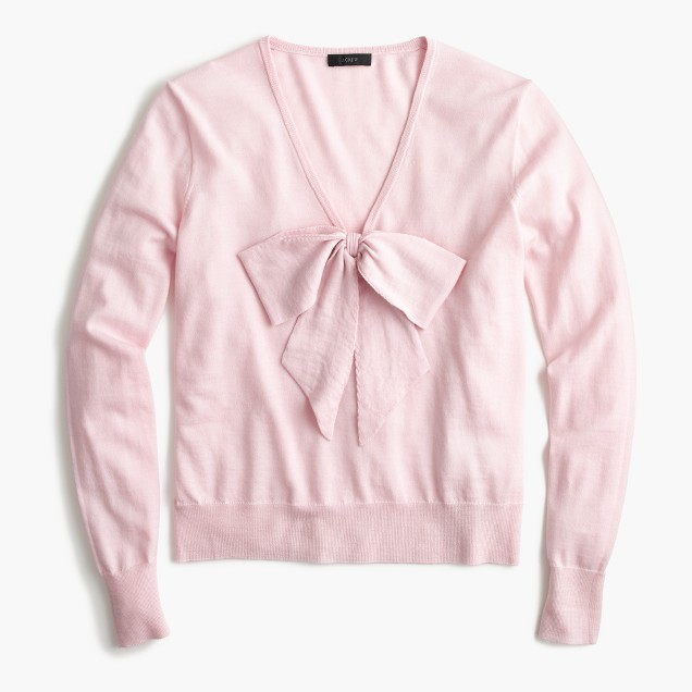 Bow sweater_jcrew