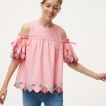 fiesta cold shoulder top