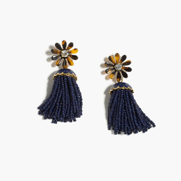 Jcrew tassel earrings