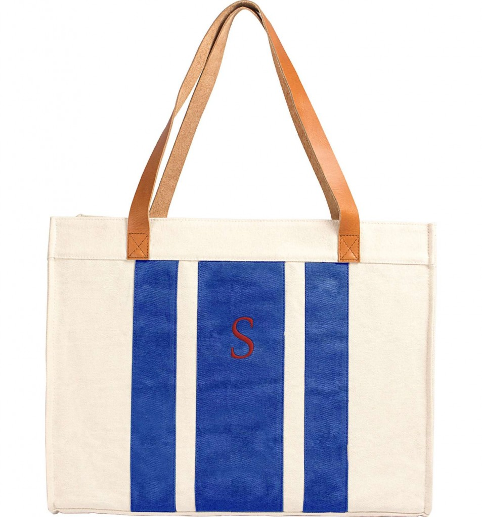 Monogram Canvas Totes