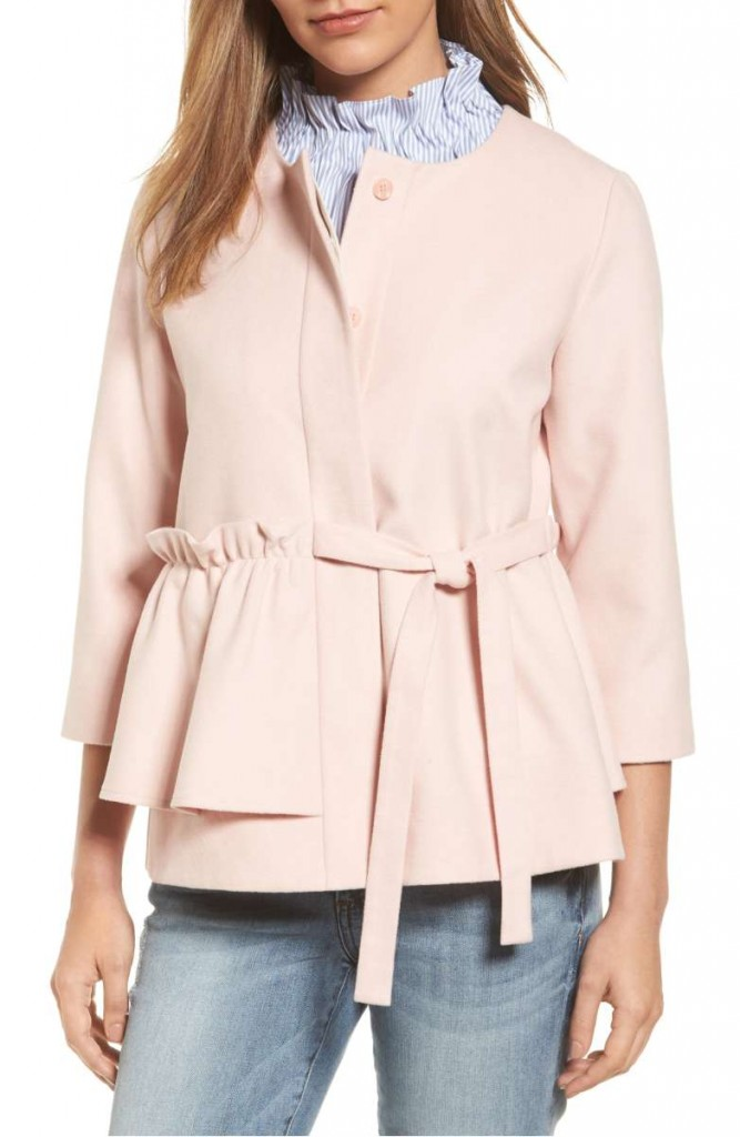 Soft Ruffle Jacket