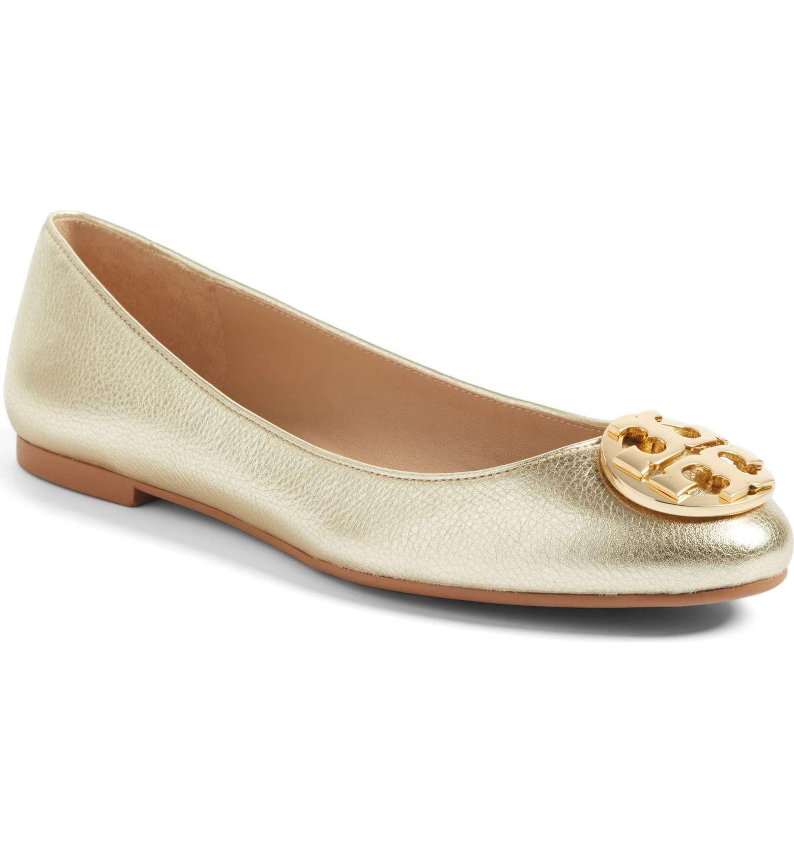 677752944790 Tory Burch Claire Ballerina Flats