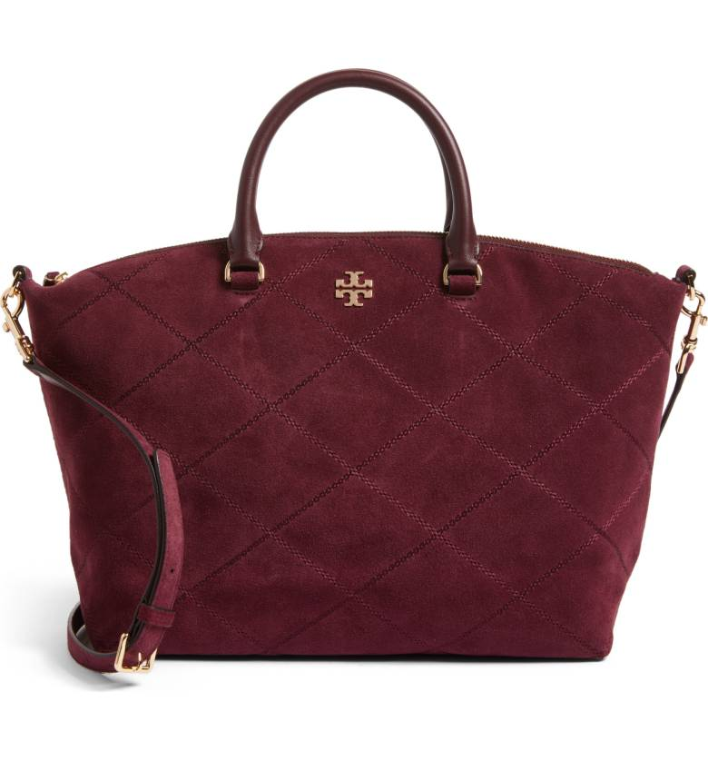 Tory Burch Suede Satchel