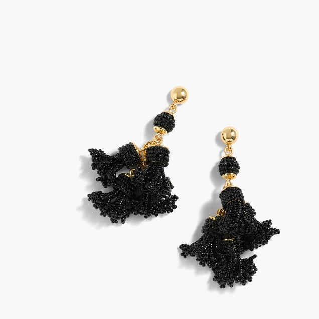 j.crew chandelier earrings