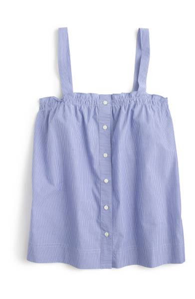 blue camisole