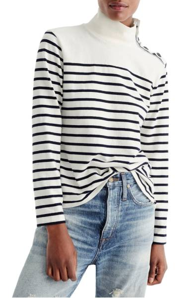 J.Crew Striped Sweater