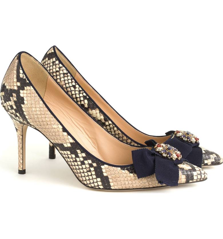 Elise Bow Pumps